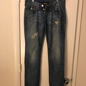 True Religion Jordan Boyfriend Jeans - Size 25